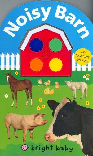 Noisy Barn: With Four Farm Sounds! by Priddy Books