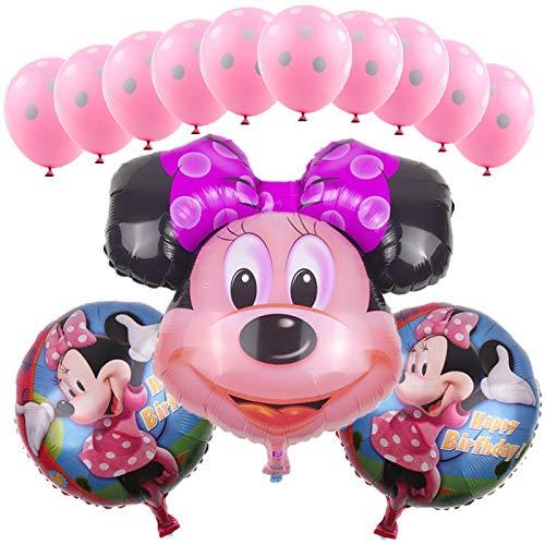 AWEIE 13pcs / Set Traje de Globo de látex Minnie niños Juguetes ...