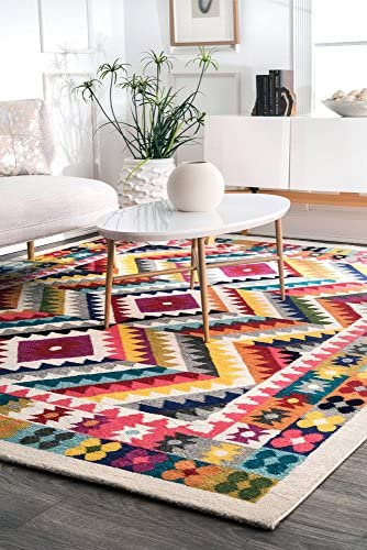 nuLOOM Abbie Abstract Area Rug, 8 x 10 , Multi