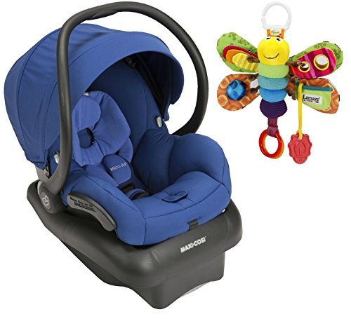 Maxi-Cosi Mico AP Infant Car Seat with Take Along Firefly Toy, Blue Base