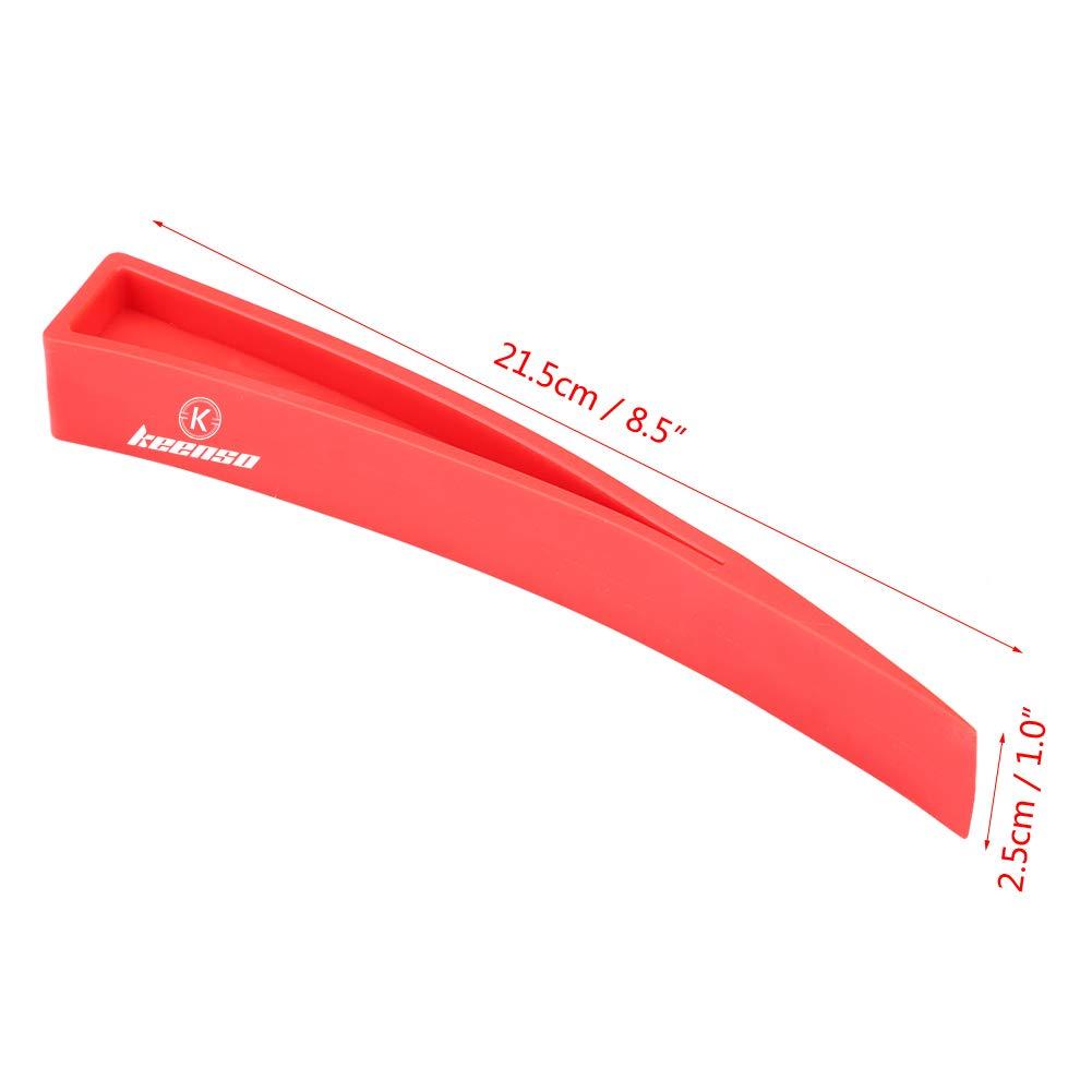 Keenso Red Window Wedge Plastic Car Door Wedge Car Window Wedge Repair Paintless Dent Repair Tools Unlock Lockout Kit 2pc
