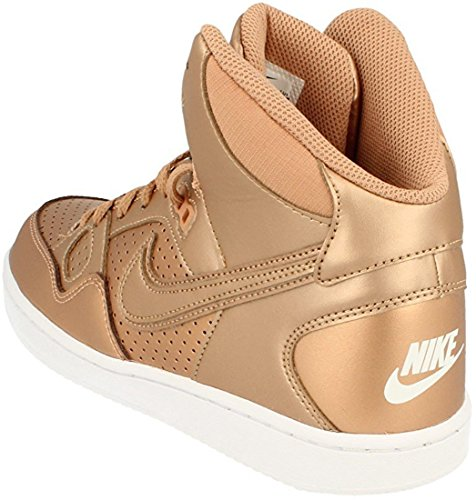 Nike Dames Son Of Force Mid-trainers 616303 Sneakers Schoenen Metallic Rood Brons
