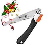 EverSaw FOLDING HAND SAW All Purpose, Wood, Bone, PVC. Best for Tree Pruning, Camping, Hunting, Toolbox. Rugged 8' Blade, Solid Grip - Quality Made for Real Work