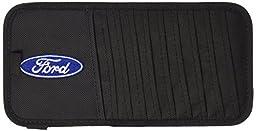 Ford Oval Logo CD/DVD Visor Organizer