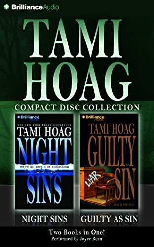 Tami Hoag CD Collection 1: Night Sins and Guilty as Sin by Brilliance Audio