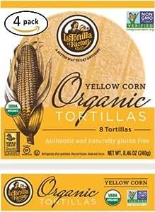 Amazon.com : La Tortilla Factory Yellow Corn Organic