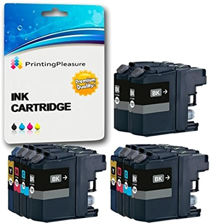 10 XL Compatibles LC221 Cartuchos de Tinta para Brother MFC-J480DW ...