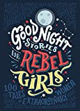 """Good Night Stories for Rebel Girls"" is a children's book packed with 100 BEDTIME STORIES about the life of 100 EXTRAORDINARY WOMEN from the past and the present, illustrated by 60 FEMALE ARTISTS from all over the world. Each woman's story is..."