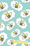 Address.: Address Book. (Vol. C30) Cute Bee Cover