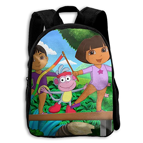 Price comparison product image Dora The Explorer Functional Design For Kids School Backpack Children Bookbag Perfect For Transporting For School In 4 Season