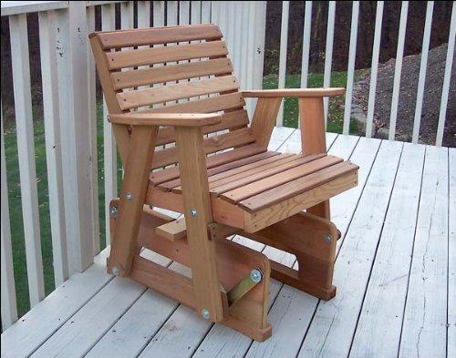Red Cedar American Classic Glider Chair (Cedar American Classic Glider Chair)