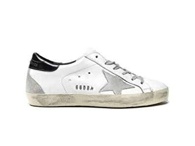 1d7ab4b9b309 Image Unavailable. Image not available for. Color  Golden Goose Deluxe Brand  Women Superstar Low Top Sneakers White ...
