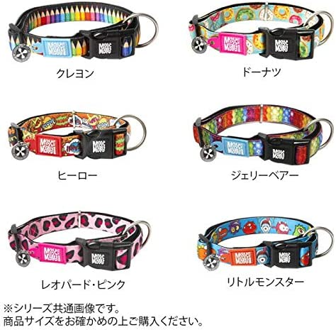 こちらの商品は【 ドーナツ 】のみです。 抜群のフィット感のあるとてもかわいい首輪です。 Max&Molly(マックス&モーリー) M&MスマートID付き犬用首輪 オリジナルギアM 〈簡易梱包
