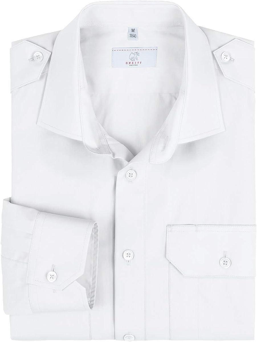 GREIFF Herren Pilothemd Corporate WEAR 6730 Basic Regular Fit
