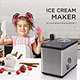 COOLLIFE Ice Cream Maker Compression Cooling with