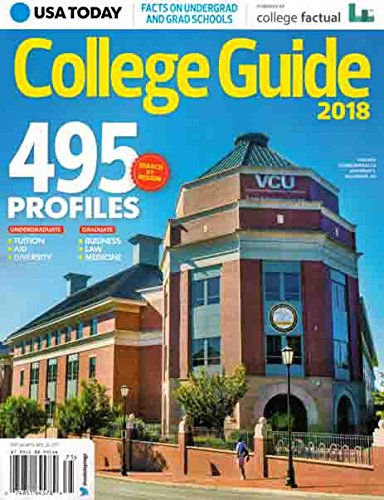 USA Today College Guide 2018 Issue 75