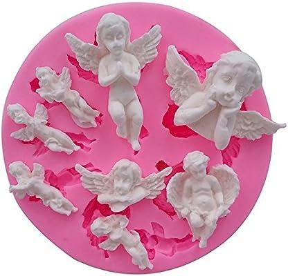 Mujiang Molde de silicona para decoración de tartas, chocolate y ...