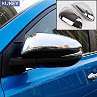 Chrome Door Side Rear View Mirror Cover Trim Rear View Cap Overlay Molding Garnish For Nissan Qashqai 2018 2019 Automobiles & Motorcycles Styling Mouldings