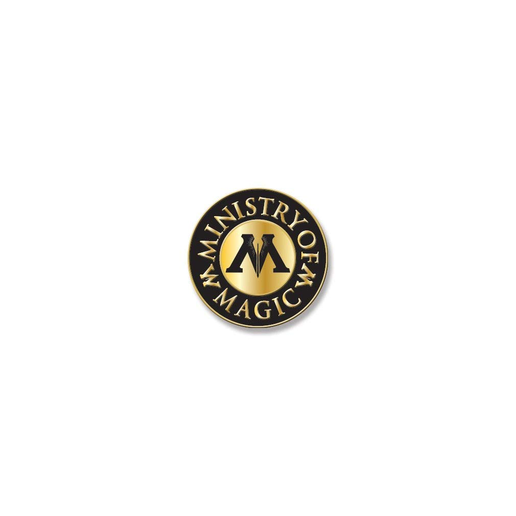 AtaBoy Harry Potter Ministry of Magic 1 2  Full color Enamel Pin