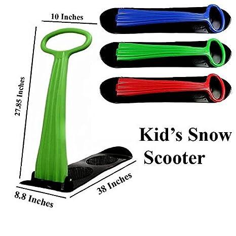 Amazon.com: e-joy Nieve Scooter de juguete, nieve trineo ...