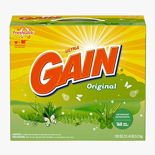 Gain Original Powder Detergent, 180 oz. (pack of 6) by GAIN