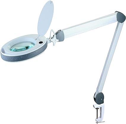 banco da lavoro arte del diamante hobby lente dingrandimento da tavolo e da scrivania con luce LED ultra luminosa a risparmio energetico artigianato Lente dingrandimento 3X Tonhui