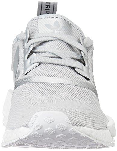 Sneakers Donna Adidas Original Sneaker Nmd_r1w Donna Argento Opaco / Argento Opaco