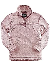 Adult Super Soft 1/4 Zip Sherpa Pullover