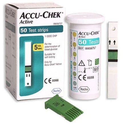 accu-chek-active-test-strips-50-sheets-diabetics-aids-blood-health-hematocrit