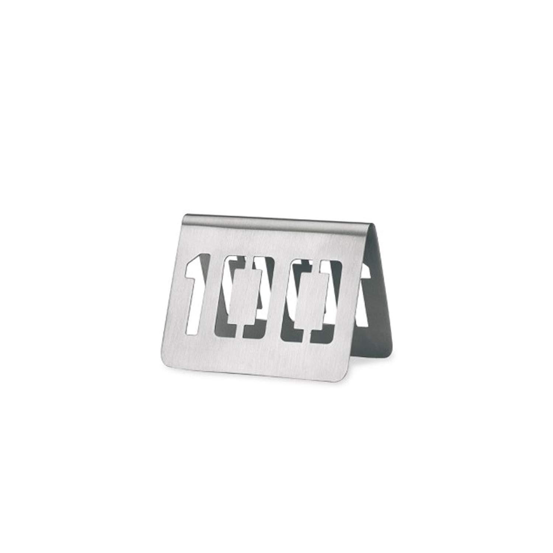 Supreminox señal para números de Mesa 1 A 100, Acero ...