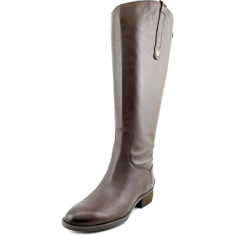 Sam Edelman Women's Penny 2 Wide-Shaft Riding Boot B06XJJQZ1Q 8.5 C/D US|Dark Brown Basto Crust Leather