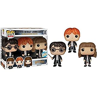 Figurine pop Harry Potter vinyle - Pack Hermione, Harry et Ron Weasley Pop 10cm