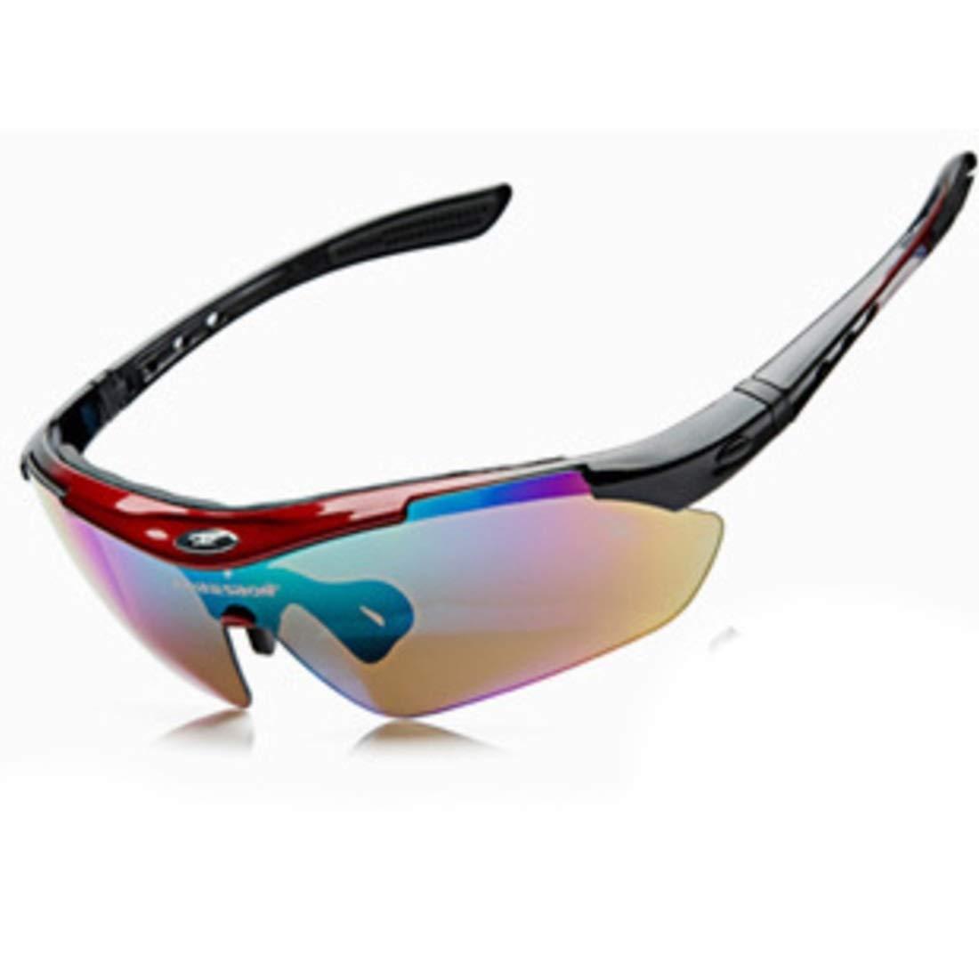 BAOYIT Polarized Goggles Riding Outdoor Polarized Riding Glasses Outdoor Sports Goggles for Women Men (Color : Black) by BAOYIT