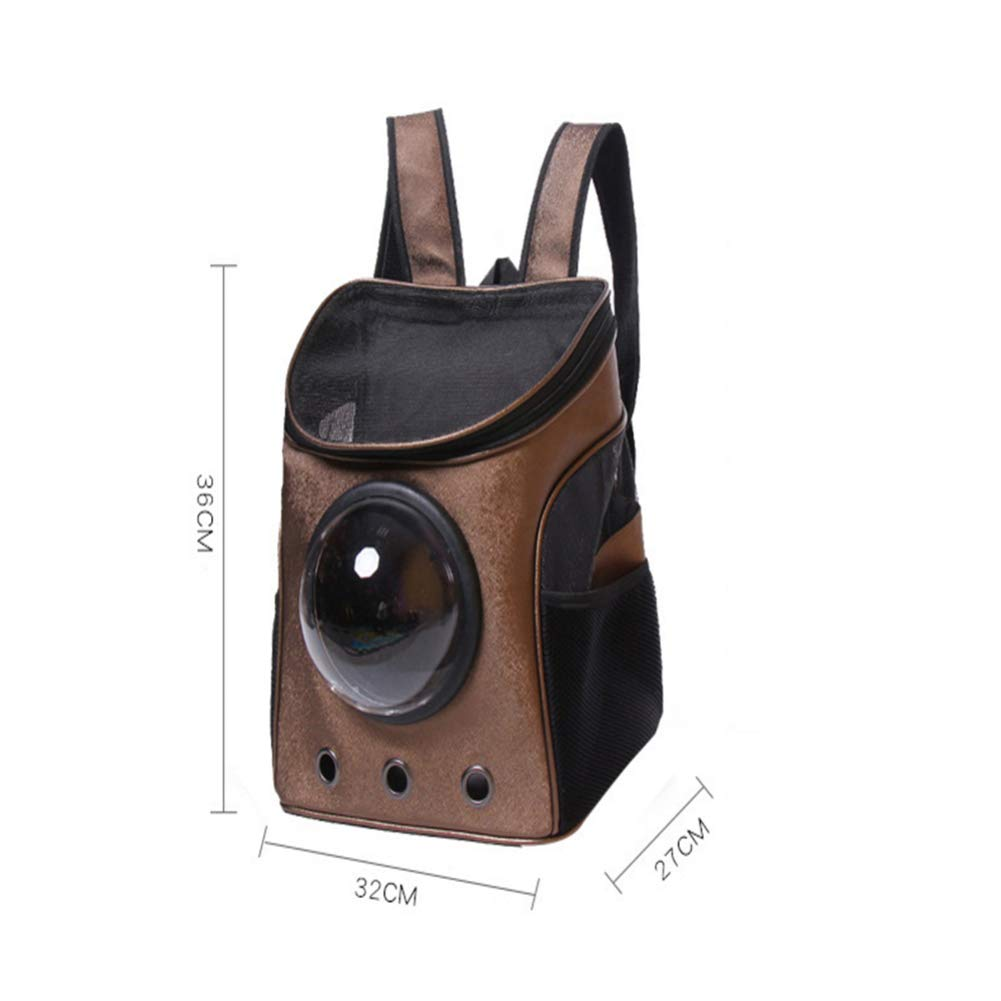A ZHH pet backpack cat dog backpack pet out carrying bag space capsule pet bag,A