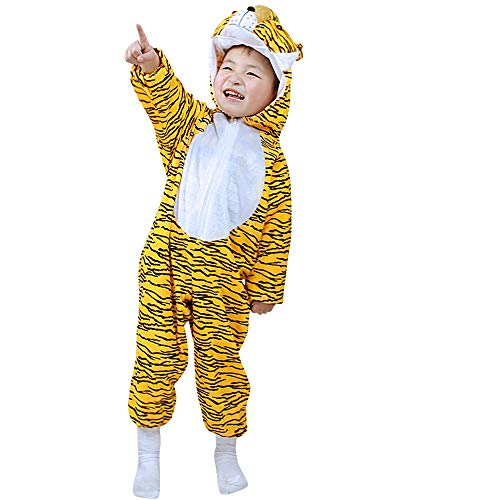 Kids Animal Costumes Pajamas Fancy Dress Outfit (3-4,