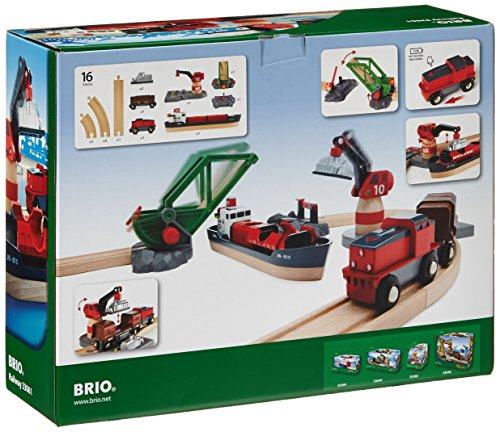 Review BRIO Cargo Harbor Set