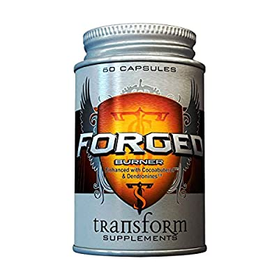 Forged Burner by Transform Supplements. Extreme Fat Burner and Thermogenic, 60 Capsules