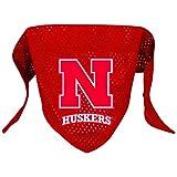 NCAA Nebraska Cornhuskers Pet Bandana, Team Color, Small