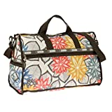 LeSportsac Large Weekender Bag, Caraway Floral Light, One Size