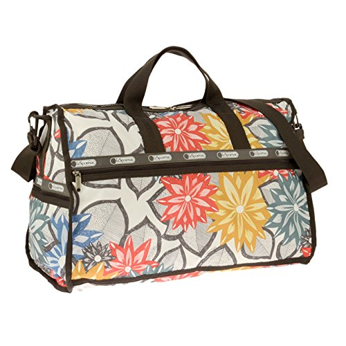 LeSportsac Large Weekender Bag, Caraway Floral Light, One Size by LeSportsac