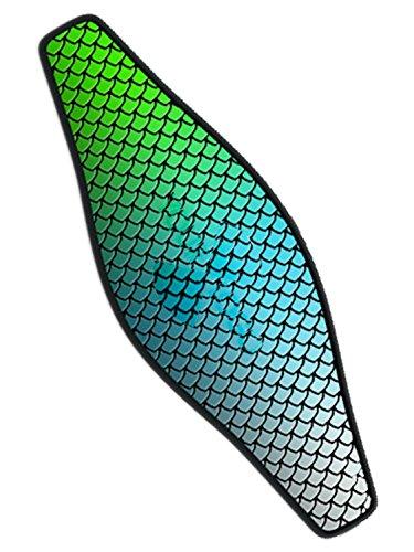 Innovative Strap Wrapper Neoprene Mask Strap Cover Blue fish scales