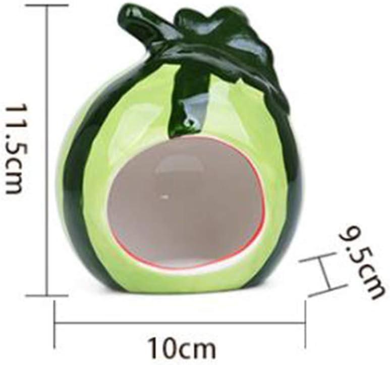 in ceramica a forma di cartone animato nascondiglio per criceti piccoli animali SH Nano