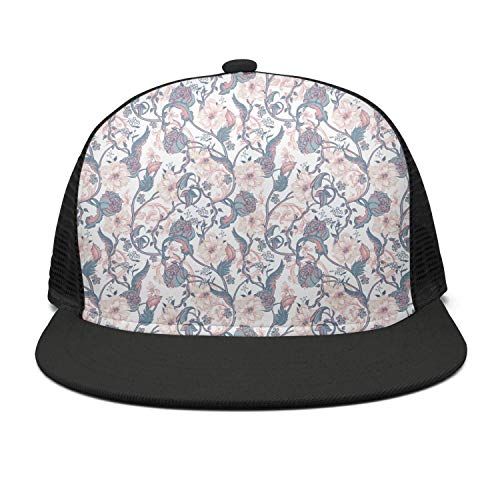 Men Women Golf Cap Breathable Vintage Blooming Magnolias