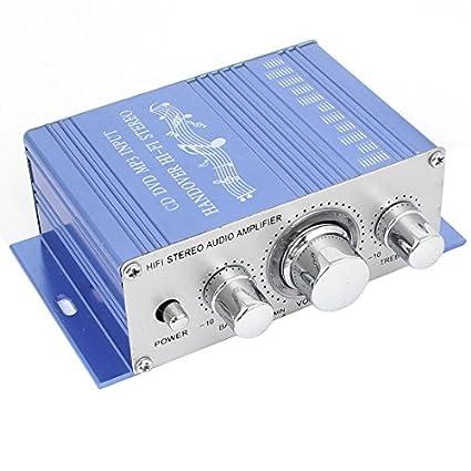 DC 12V 40W Car Hifi áudio estéreo Amplificador de Potência