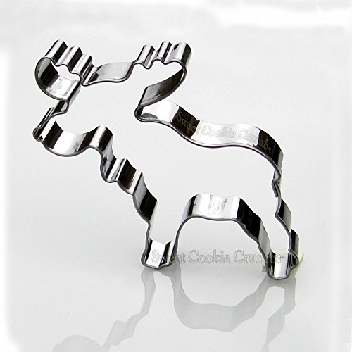 Moose Cookie Cutter- Stainless Steel - Moose Cookie Cutter