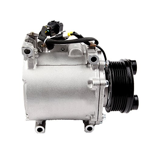 ECCPP A/C Compressor with clutch CO 10529AC fit for 2000-2005 Chrysler Sebring Dodge Stratus Mitsubishi Diamante Eclipse Galant