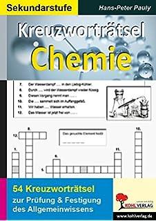 Allgemeinwissen Fördern Chemie Grundkenntnisse Fachgerecht