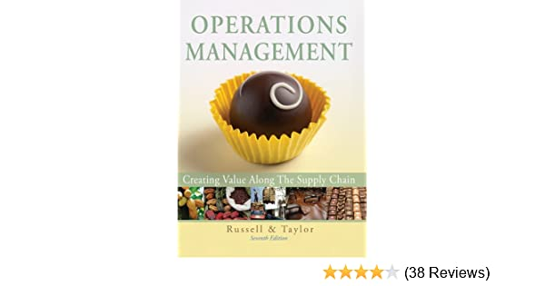 Operations management creating value along the supply chain 7th operations management creating value along the supply chain 7th edition roberta s russell bernard w taylor iii 9780470525906 amazon books fandeluxe Images