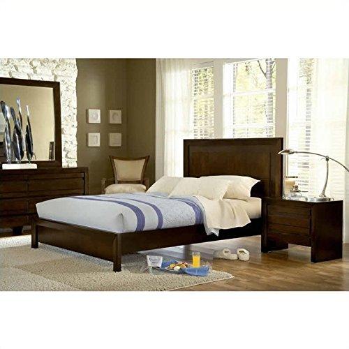 Modus Furniture 4G2281 Element Nightstand, Chocolate Brown
