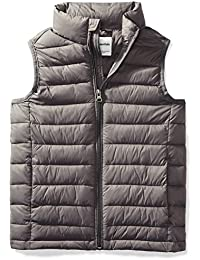 Boys' Lightweight Water-Resistant Packable Puffer Vest